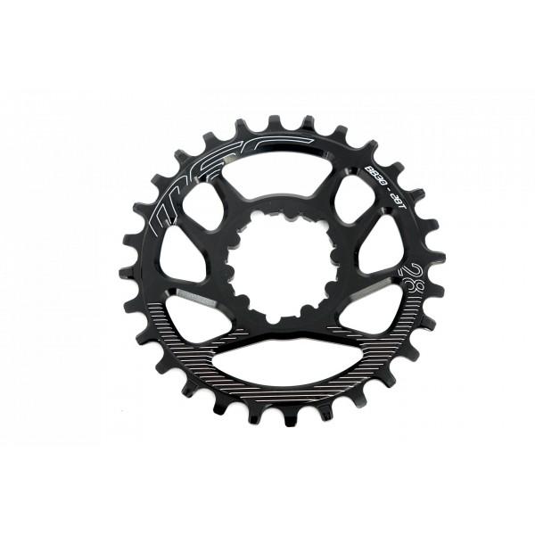 MSC Bikes Dmbb30 Plato, Negro, 28