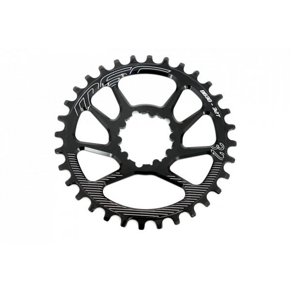 MSC Bikes Dmbb30 Plato, Negro, 32