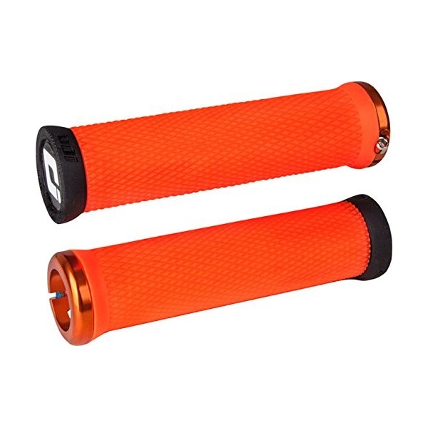 ODI MTB Elite Motion Lock On 2.1 Pinza anillos, d33mto de O asas, Naranja, 130 mm