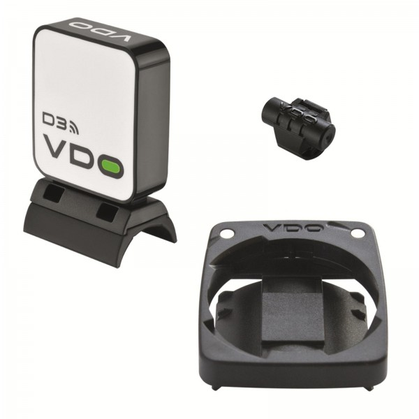 Vdo cyclecomputing M-series speed kit wireless D3, color negro