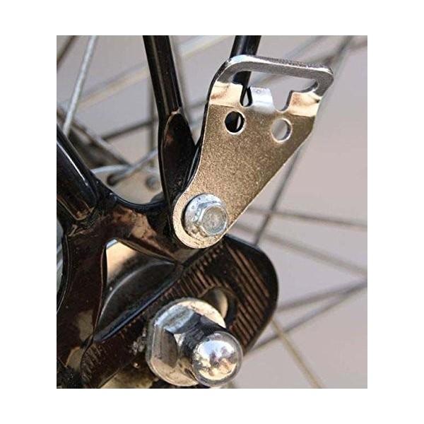 Cicli Bonin Crosso Rear Carrier Bag Fixing, Unisex, Plata, Talla Única