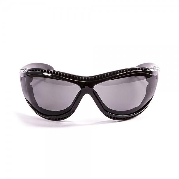 Ocean Sunglasses tierra de fuego - gafas de sol polarizadas - Montura : Negro Brillante - Lentes : Ahumadas  12200.1