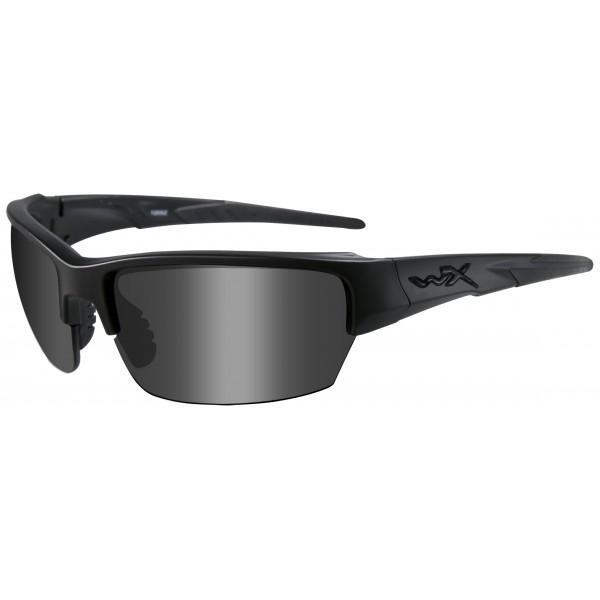 Wiley X Gafas protectoras Saint en juego con 2 cristales, color negro mate, S/M, CHSAI07