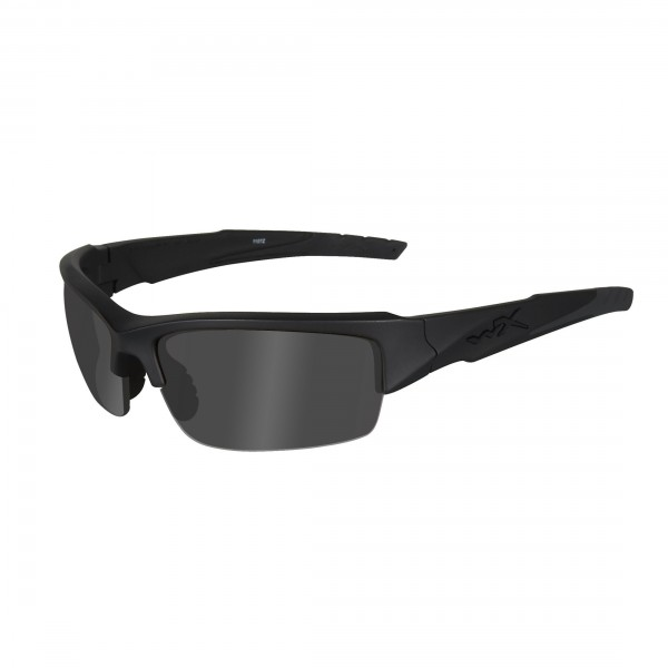 Wiley X Gafas protectoras WX Valor, color negro mate, S/L, CHVAL01
