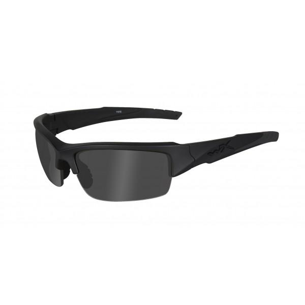 Wiley X Gafas protectoras WX Valor con filtro polarizador, color negro mate, S/L, CHVAL08