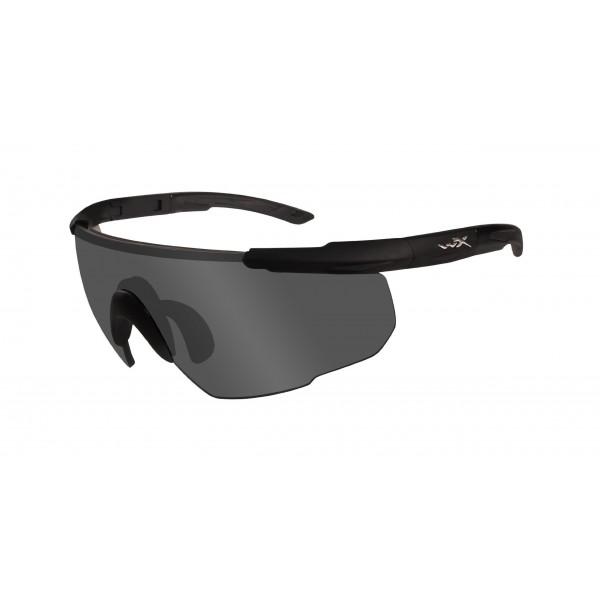 Wiley X Gafas protectoras Saber Advanced, color negro mate, M/XL, 302