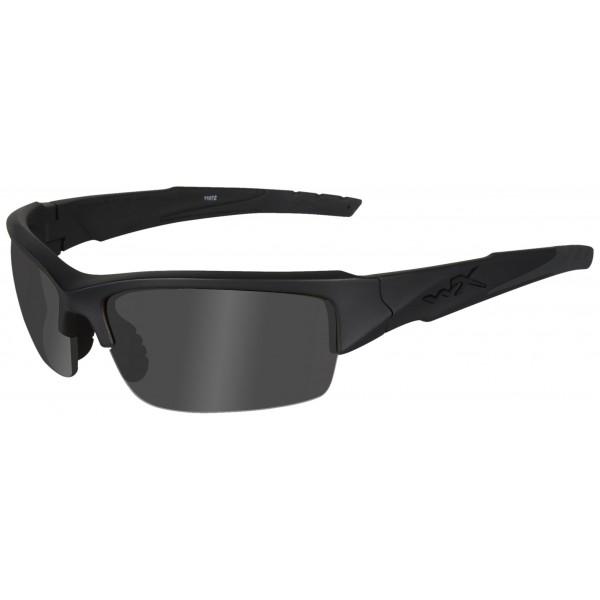 Wiley X Gafas protectoras WX Valor en juego con 2 cristales, color negro mate, S/L, CHVAL07