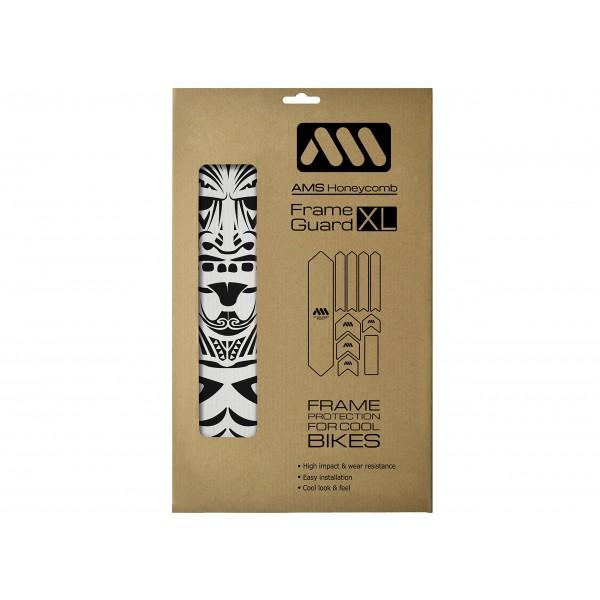 All Mountain Style AMSFG2CLMO Protector de Cuadro, Unisex Adulto, Transparente  Maori , XL