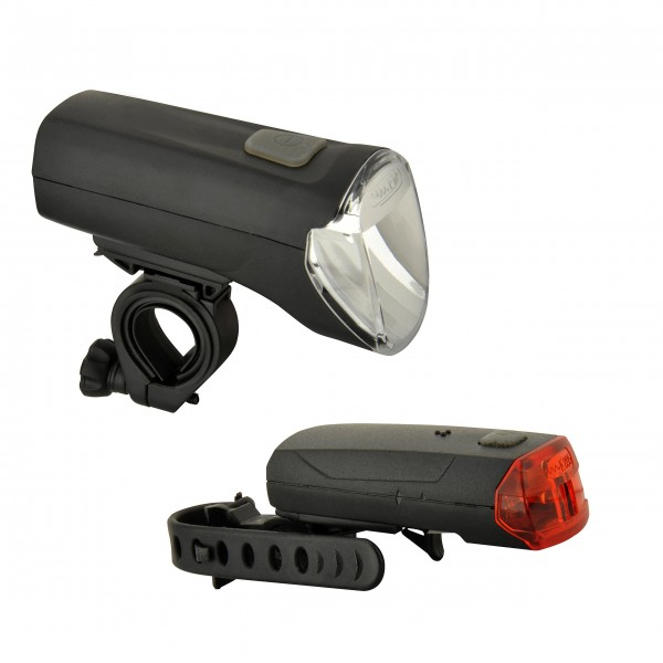 Fischer adultos 60/30/15lux–Juego de luces LED, Negro, One size