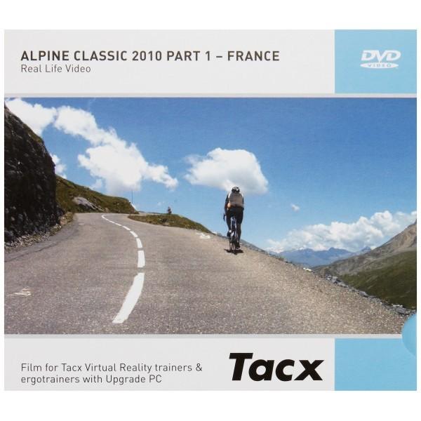 Technische Industrie Tacx Tacx Fortius I - Magic DVD Alpine Classic 2010 Part I - France