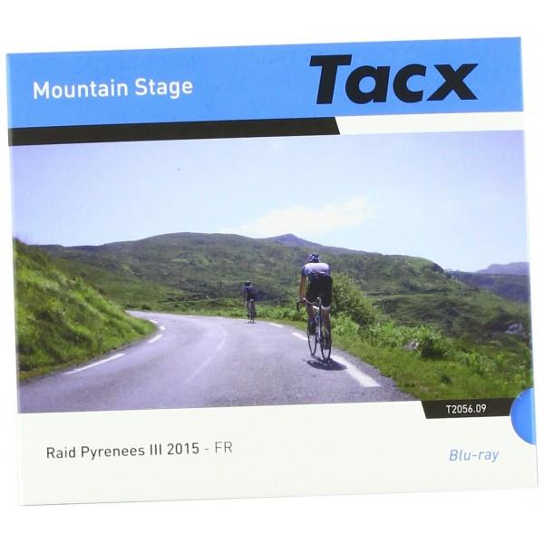 Tacx Real Life Video de Blu-ray Disc RAID Pirineos 3de fr DVD, Negro, Tamaño Estándar