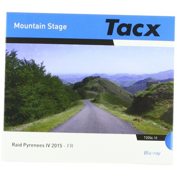 Tacx Real Life Video de Blu-ray Disc RAID Pirineos de 4fr DVD, Negro, Tamaño Estándar