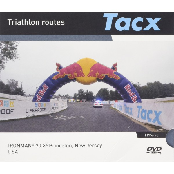 Tacx Ironman Triathlon Real Life Video DVD, Negro, Tamaño Estándar