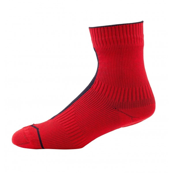 Seal Skinz 111162060040calcetines impermeables Unisex, Rojo/Negro, FR: XL  talla fabricante: XL