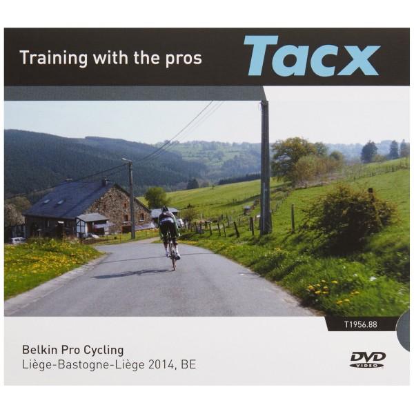 Tacx DVD de entrenamiento con profesionales Belkin Pro Cycling Bélgica para PC/portátil, T1956, 88