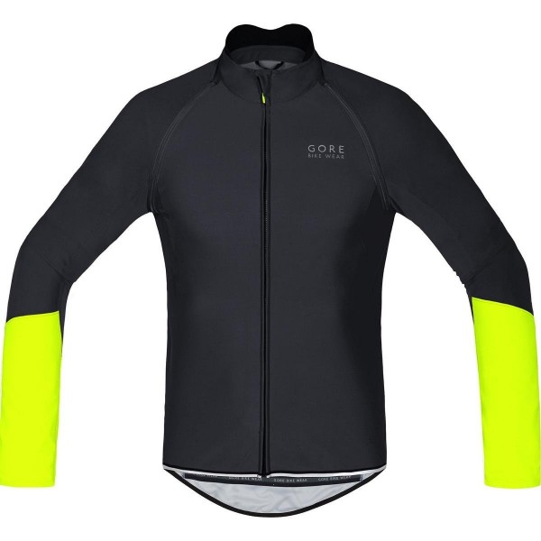 Gore BIKE WEAR, Maillot para ciclismo, Hombre, mangas desmontables, WINDSTOPPER® Soft Shell, POWER WS SO ZO, Talla XS, negro/