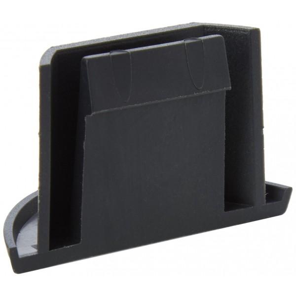 Tacx Crescent Shaped - Accesorio para rodillos para bicicletas, color negro, talla UK: N/A