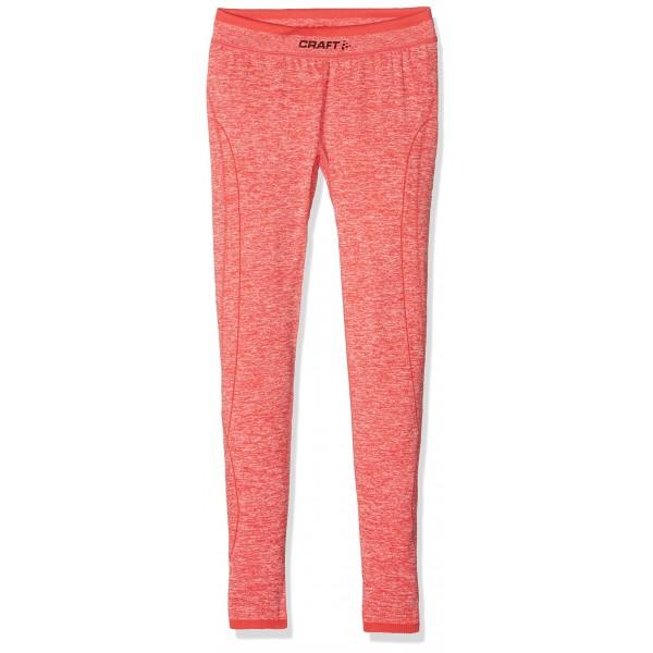 Craft Active Comfort JR–Pantalones infantil Base Layer, Poppy, 122/128