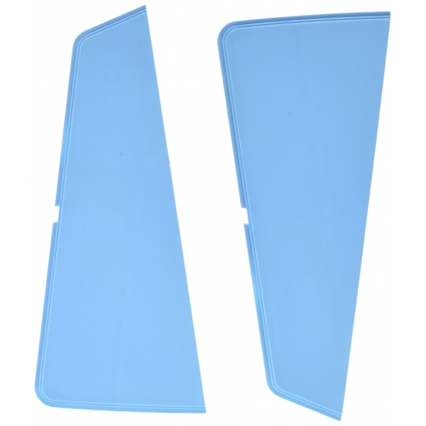 Tacx Black Track - Accesorio para rodillos para bicicletas, color azul, talla UK: N/A