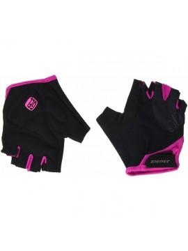 Ziener Capela Bike Glove Guantes, verano, mujer, color fucsia, tamaño 6