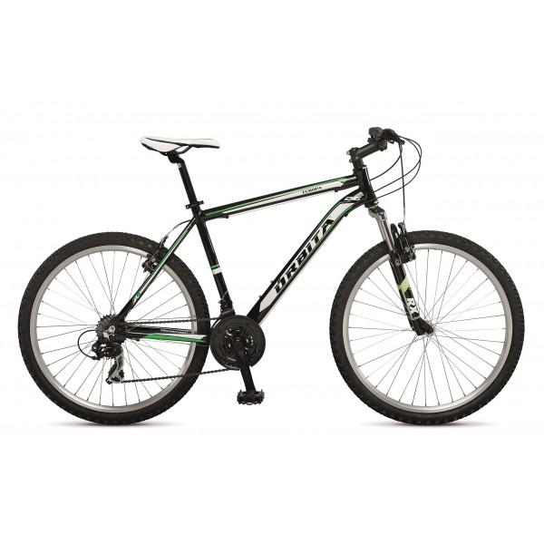 """Orbita EUROPA 26"""" - Bicicleta BTT de montaña para hombre, 21 velocidades, cuadro 15 aluminio, frenos V-Brake, negro,  155cm"""