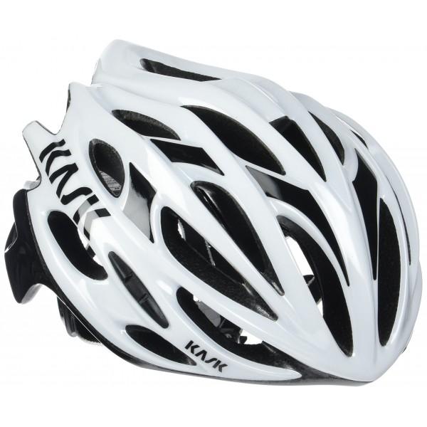 Kask Mojito 16 - Casco para bicicleta - Mixto para adultos, Multicolor  weiß/schwarz , M  52-58 cm