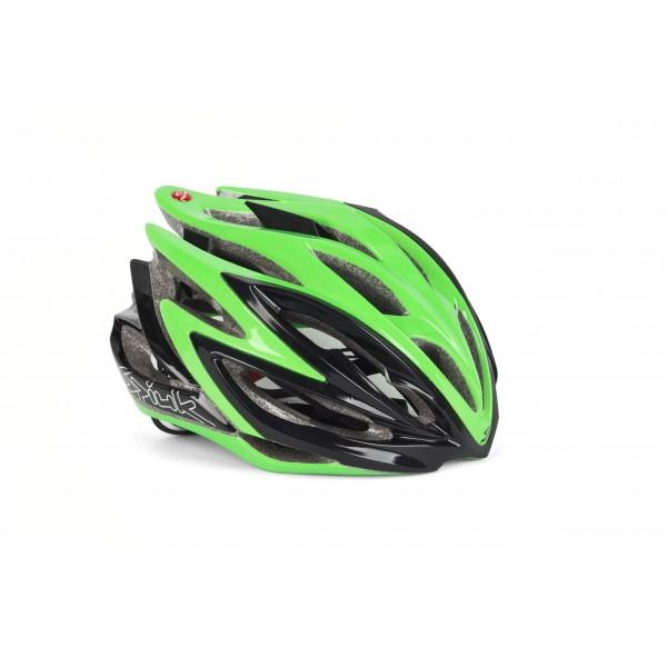 Spiuk Dharma - Casco de ciclismo, color verde/negro, talla 53-61