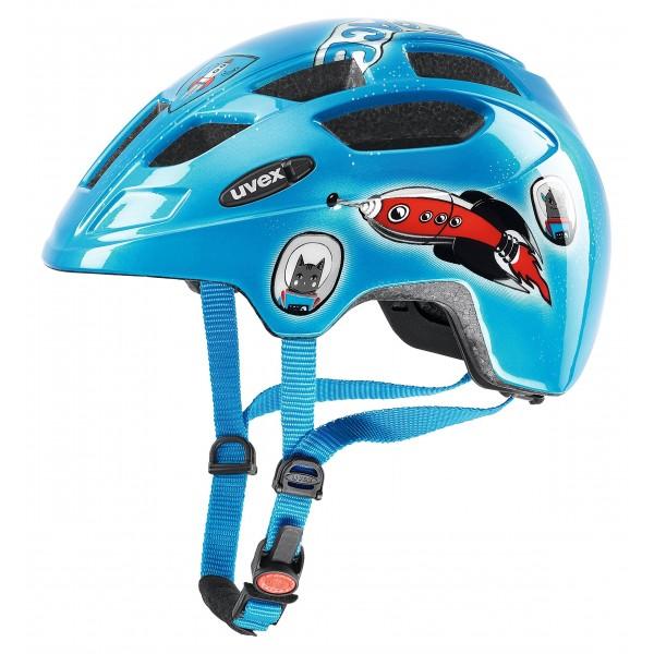 Uvex 4148071213 Casco Ciclismo, Infantil, Multicolor, 47-52 cm