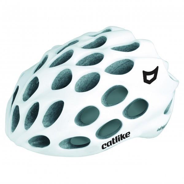 Catlike Whisper - Casco de ciclismo, color blanco brillo, talla MD  56-58 cm