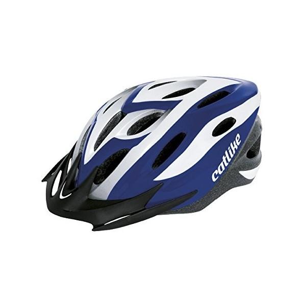 Catlike Xena - Casco de ciclismo, color azul/blanco, talla MT  52-58 cm