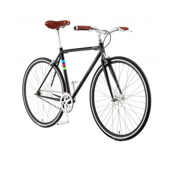 Bibóo Bikes Gekko Bicicleta Eléctrica, Unisex Adulto, Negro, 54  L
