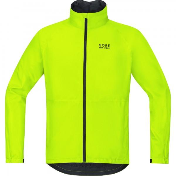 GORE BIKE WEAR Chaqueta para ciclismo en carretera o MTB, Hombre, GORE-TEX, Talla M, Amarillo neón, JGTELE