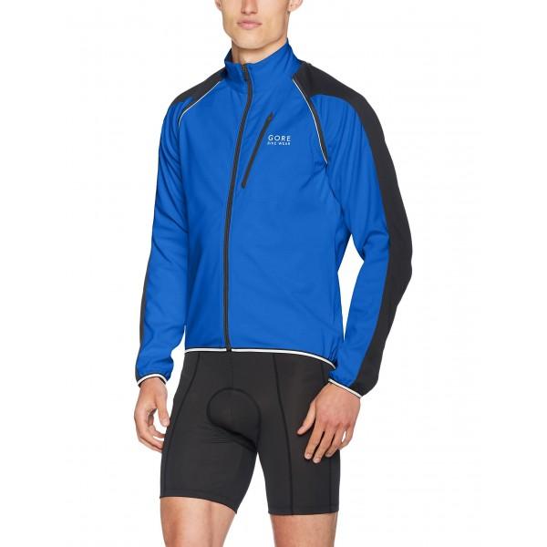 Gore Wear Phantom Plus Zip-Off Chaqueta, Hombre, Azul  Brilliant Blue/Black , L