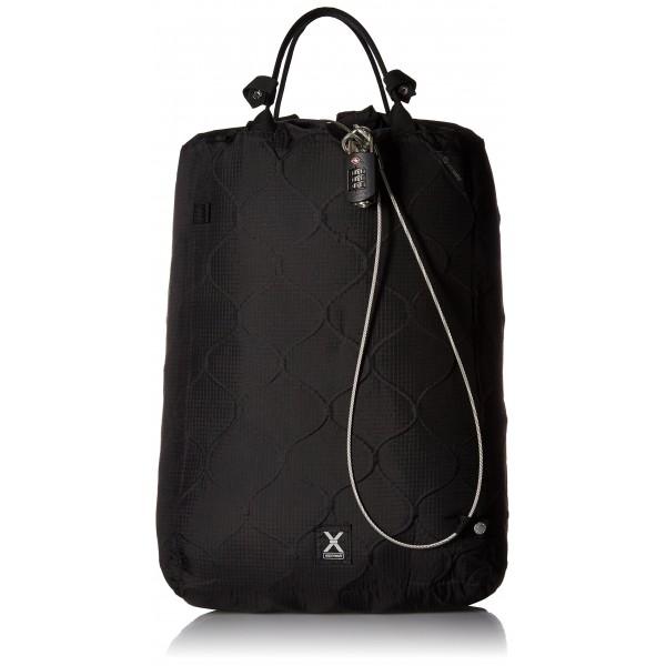Pacsafe Travelsafe X25 Bolsa de agua para mochila, 52 cm, 25 litros, Negro