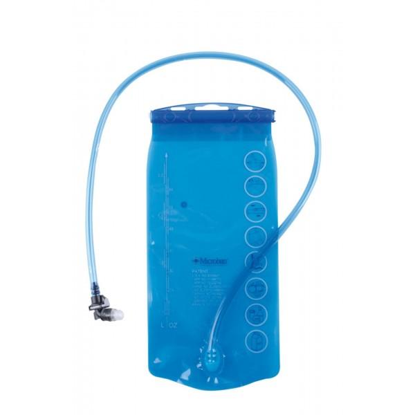 M-Wave Recipiente Recipiente para mochila hidratación, Unisex adulto, negro, 2 litros