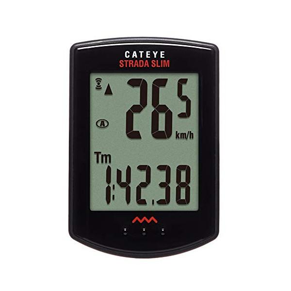CatEye CC-RD310W Black Cuentakilómetros, Unisex Adulto, Negro, Talla Única