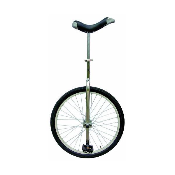 Fun ALU-einrad Zoll Monociclo, Unisex, Negro, 20 in