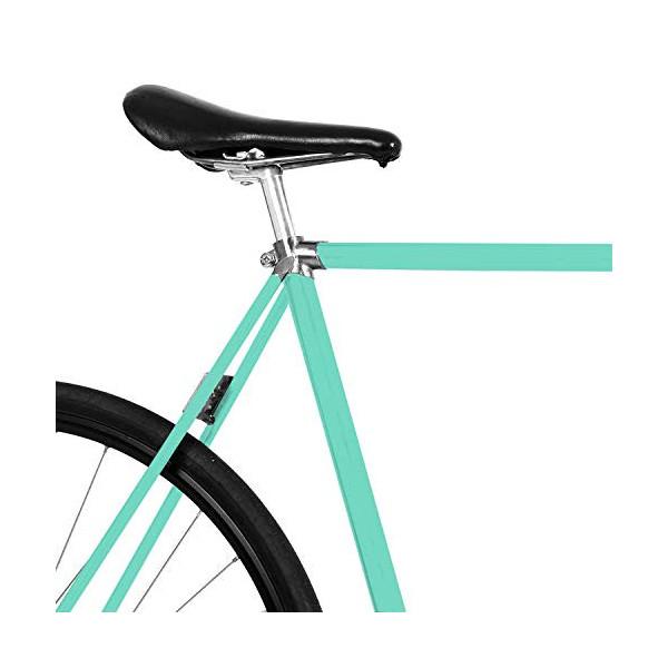 MOOXIBIKE Fahrradfolie für Rennrad Lámina para Bicicleta de Carreras, Unisex Adulto, Verde Menta, 1 x 150 x 13 cm
