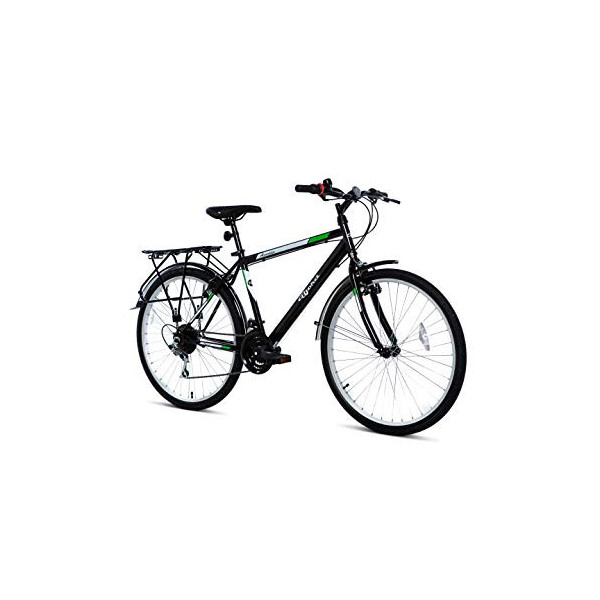 "BJORD Bicicleta Avenue 26"", Adultos Unisex, Negro, Normal"