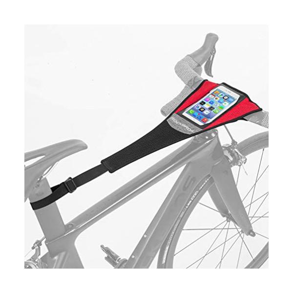 ROCKBROS Cubierta de Sudor para Entrenamiento de Bicicleta Impermeable Elástica Absorber el Sudor para Rodillos Ciclismo Dos