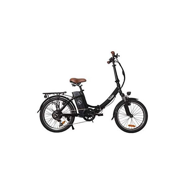 Velair Urban - Bicicleta eléctrica para Adulto, Unisex, Color Negro