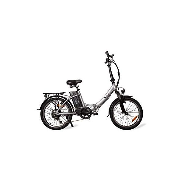 Velair Bicicleta eléctrica Urban, Gris