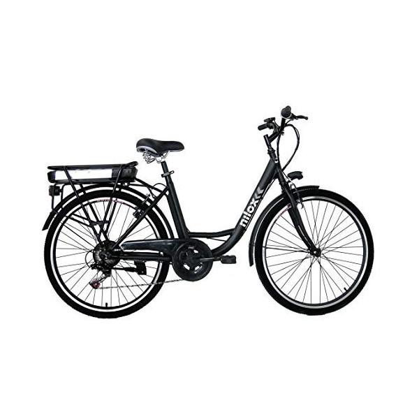 Nilox 30NXEB266VFM1V2 - Bicicleta eléctrica E Bike 36V 7.8AH 26X1.75P - J5, Motor 36 V 250 W, batería Recargable Samsung de L