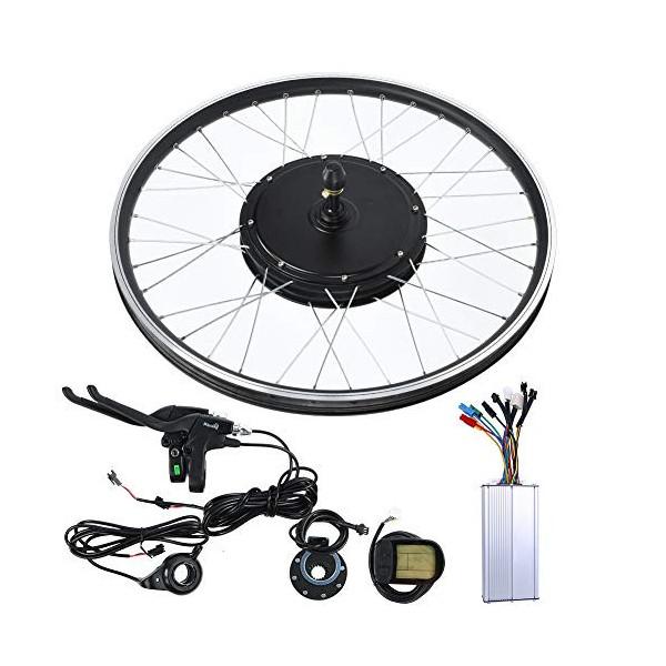 VGEBY Ebike 48V 1500W Motor Rueda de 26 Pulgadas KT-LCD5 Metro Bicicleta de montaña Convertir a Kit de Bicicleta eléctrica  R