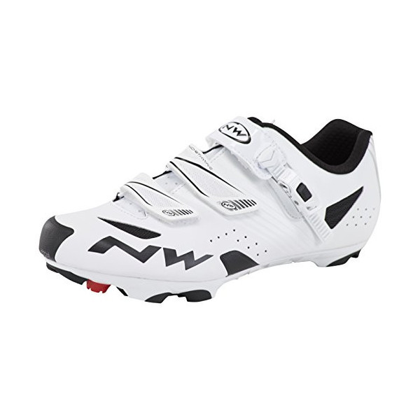 NORTHWAVE Sapatos Btt NW Hammer SRS Wht, Zapatillas Unisex Adulto, White, 40 EU