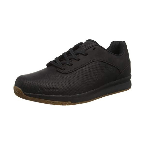 VAUDE Tvl Asfalt Dualflex, Zapatillas de Ciclismo de montaña Unisex Adulto, Negro  Black 010 , 45 EU