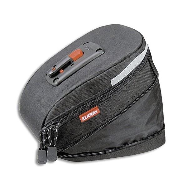 Rixen und Kaul 0295S Micro 200 - Alforja para sillín  1,2 L , color negro