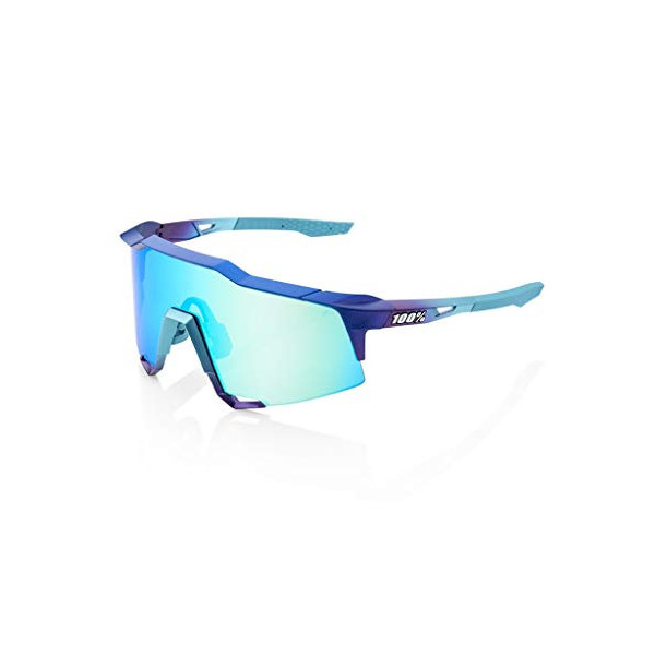 100% GAFAS SPEEDCRAFT - Matte Metallic Into the Fade - Blue Topaz Multilayer Mirror Lens