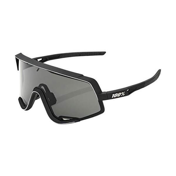 100 Percent Glendale-Soft TACT Black-Smoke Lens Gafas, Hombres, Negras-Cristal Oscuro, Mediano