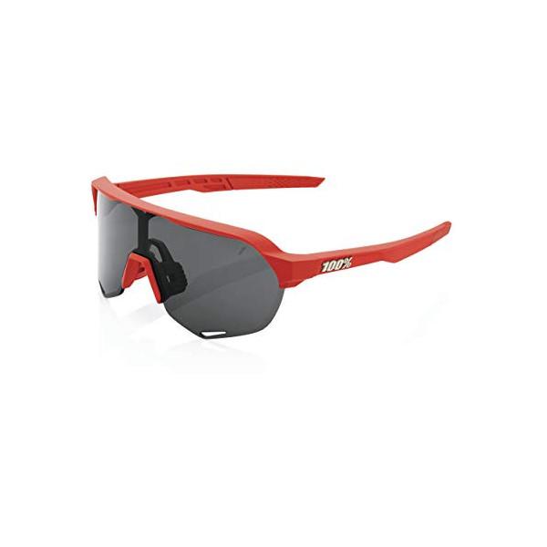 100% GAFAS S2 - Soft Tact Coral - Smoke Lens